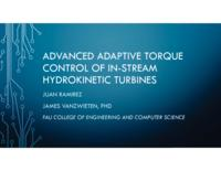 Advanced Adaptive Torque Control of Hydrokinetic Turbines