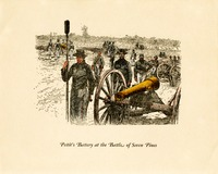 Pettit's Battery at the Battle of Seven Pines, n.d.