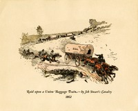 Raid upon a Union Baggage Train- Jeb Stuart's Cavalry, 1862
