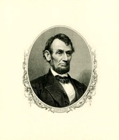 Lincoln Engraving, n.d.