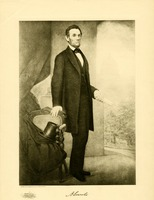 Portrait of Lincoln Standing, 1907