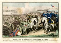 Surrender of Port Hudson, La, 1863