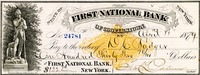 First National Bank, 1879