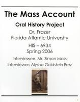 Interview with Simon Mass – ca. 2006