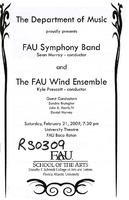 FAU Symphony Band and FAU Wind Ensemble - February 2009