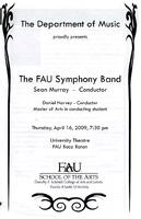 FAU Symphony Band - April 2009