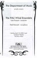 FAU Wind Ensemble - April 2009