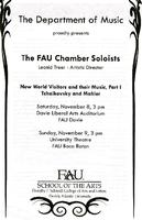 The FAU chamber soloists - November 2008