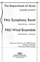 FAU Symphony Band and Wind Ensemble - February 2008