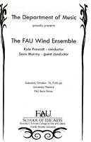 FAU Wind Ensemble - October 2008