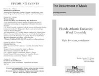 FAU Wind Ensemble - Fall 2010