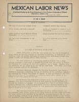 Mexican Labor News - January 18, 1940 v. 8, no. 3