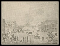 Civil War lithograph