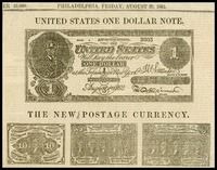 United States One Dollar Note
