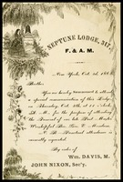 Neptune Lodge, in N.Y., to William Clarke