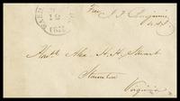 To Alexander H.H. Stuart from Judah Benjamin, 1856