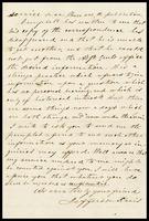 Letter from Jefferson Davis to McPherson, 1872