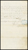 A.J. [Alfred] Clarke, in D.C., to his father, William in N.Y., 3-28-1870