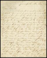 Starke, in Summerfield, Alabama, to John Clarke, in D.C.