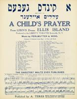 Child's Prayer