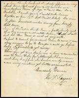 C.F. Guyon, in N.Y., to Will [Clarke]