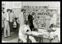 Official IBM Tour Visits the FAU Library, 1976
