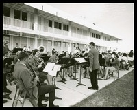Junior College Bands Playing at the Dedication, 1964