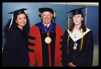Graduates with Dr. Catanese