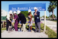 Groundbreaking on Boca Raton Campus