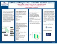 FEMA Hazard Mitigation Plan for the FAU Satellite Campuses