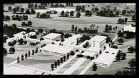 Architectural Rendering of Proposed Campus Layout, 1963