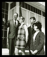 Williams with Students, 1967