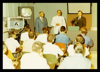 Williams Gives a Presentation, 1968