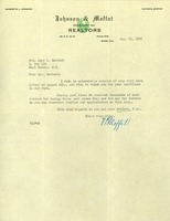 Correspondence and news article regarding Florida land, 1925-1926