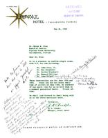 Florida Atlantic University Historical Files: Advisory Committee Meeting, June 16-17, 1960