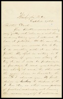 E. [Ed] Morgan, in D.C., to Brother [William] Clarke, in N.Y.
