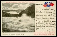 Train/Bridge Whirlpool Rapids Niagara Falls, 8/20/1901