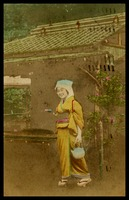 Japanese Girl with tea