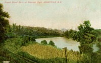 French Broad River at Riverside Park, Asheville, N.C.