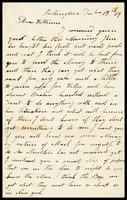 E. [Elizabeth] Clarke, in D.C., to her husband, William, in N.Y.