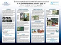 Environmental Restoration and Water Circulation Improvement of the Guachinanga Channel, San Jose Lagoon, PR