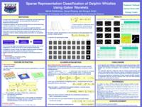 Sparse Representation Classification of Dolphin Whistles Using Gabor Wavelets