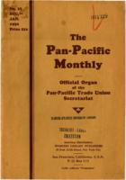 The Pan-Pacific Monthly No. 33