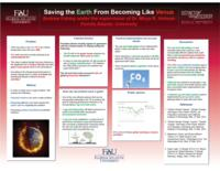 Saving the Earth From Becoming Like Venus