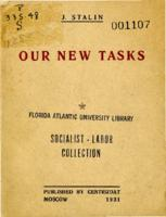 Our new tasks: Speech at All Union Conference of the directors of the Soviet industry