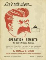 Let's talk about: Operation rewrite the agony of Russian historians