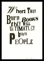 Where they burn books
