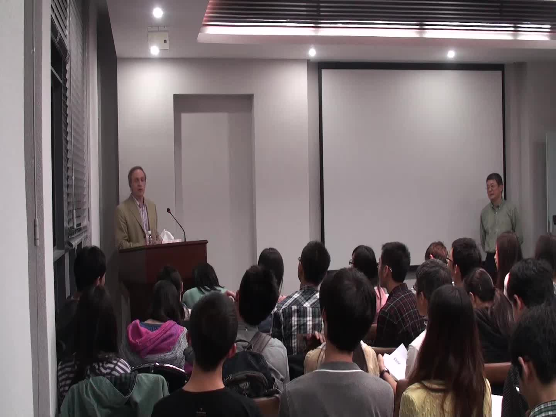 Nanjing University Lecture, 06/11/2013, part 2