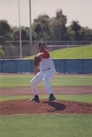 1997 FAU baseball- Keith Ambrose throwing a ball