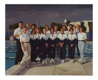 Women's Swimming Team 1989-90